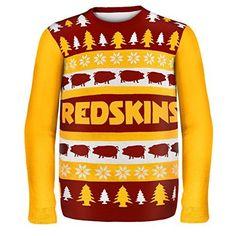 NFL Football 2014 Ugly Christmas Sweater Word Mark Design - Pick Team! (Washington Redskins, Medium)  https://allstarsportsfan.com/product/nfl-football-2014-ugly-christmas-sweater-word-mark-design-pick-team-washington-redskins-medium/  Officially Licensed Fan Gear