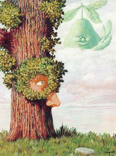 Alice in Wonderland / Alice au pays des merveilles by Rene Magritte  Completion Date: 1945  Place of Creation: Brussels, Belgium