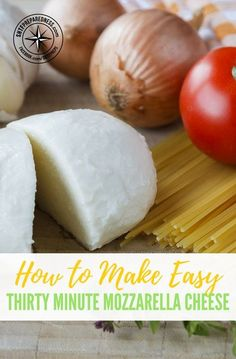 How to Make Easy Thirty Minute Mozzarella Cheese — If you like this article please like, comment or share. This will keep us in your news feed and show me what articles you are most interested in. #diymozzarella #mozzarella