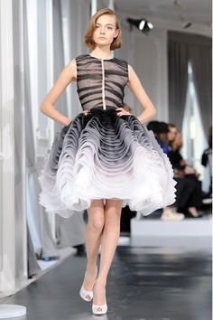 Don't like the top, don't know if I could wear the skirt, but it's still fun! dior haute couture