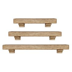 Pearl Mantels Tuscany Distressed Mantel Shelf - Fireplace Mantels at Hayneedle