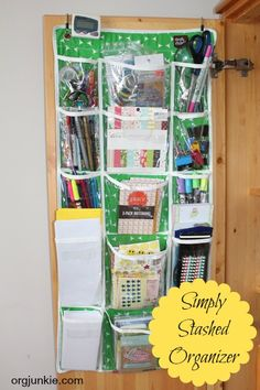 Organized for Christmas ~ Gift Storage and Tracking