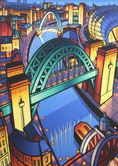 3 Newcastle Bridges, Revisited - Jim Edwards. (Acorn Properties (Jesmond) Ltd.) www.acornproperties.co.uk