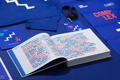 Look upstairs is a great identity project inspired by the work of MC Escher. Conference Branding, Blue Palette, Mc Escher, Graphic Design Inspiration, Logo Branding, Overlays, Red And Blue, Identity, Typography