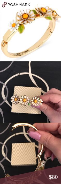 Betsey Johnson Daisy Bracelet NWOT. Very pretty and stylish. Betsey Johnson Jewelry Bracelets