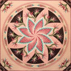 Paradise in Blooms, Quiltworx.com, Made by CI Kathi Carter