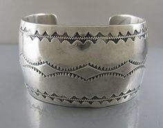 Vintage Navajo Silver Bracelet