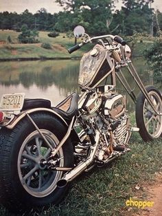 Old School Chopper.                                                                                                                                                                                 More