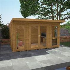 x Waltons Insulated Garden Room - FREE Installation on Walton Garden Buildings