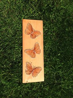 Butterfly String Art Wall Hanging