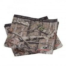 Mossy Oak party napkins for hunting themed parties. Mossy Oak break-up Infinity camo printed party supplies.