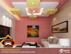 Drawing Room Ceiling Design, House Ceiling Design, Ceiling Design Living Room, Bedroom False Ceiling Design, Home Ceiling, Living Room Designs, House Design, Bedroom Ceiling, False Ceiling For Hall