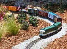 Around the bend Garden Railings, Garden Railroad, Train Activities, Real Model, Model Train Layouts, Model Trains, Toy Trains, Train Set, Garden Inspiration