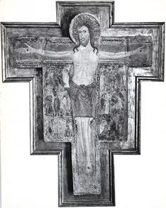 Anonimo , Maestro di Tressa - sec. XIII - Cristo crocifisso - insieme