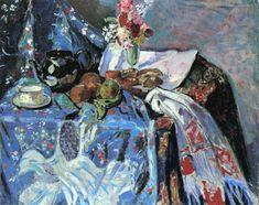 The Athenaeum - Still LIfe (Alfred Henry Maurer - ) Be Still, Still Life, Famous Artists, American Artists, Impressionist, Art Inspo, Amazing Art, Fine Art, Decoupage