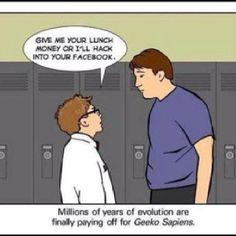 geeko sapien evolution