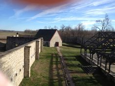Fort de Chartres in Prairie du Rocher, IL