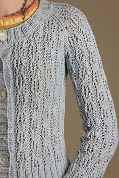 Ravelry: Windsor Cardi pattern by Amy Christoffers