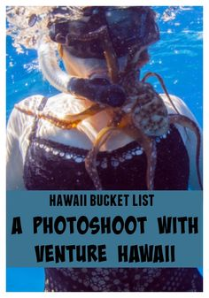 Don't just visit Hawaii, immortalize your time with incredible photographs. Check out my review of a photoshoot with Venture Hawaii.