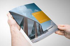 Modern Project Tri-Fold Brochure on Behance