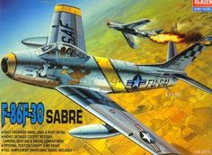 North American F-86F-30 Sabre 1/48, 29 eur.