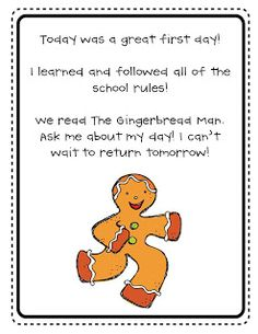 Kindergarten Korner: First Day of Kindergarten