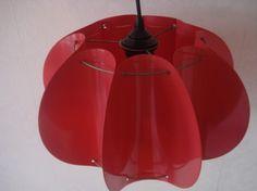 Kunstoffen vouwlamp
