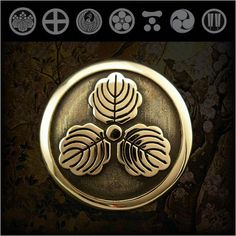 Family Crests of Japan Samurai Family Crests Coat of Arms Brass ConchoWILD HEARTS Leather & SilverWILD HEARTS Leather & Silver (ID cc2515)  http://item.rakuten.co.jp/auc-wildhearts/cc2515/