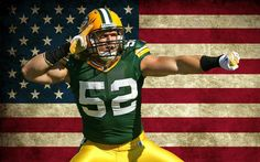 Clay Matthews all-American football Green Bay Packers #Packers #Cheeseheads #GreenBay [Follow WisconsinHouses for more local pins]
