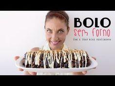La Dolce Rita: Bolo sem Forno Frappuccino, Scones, Sweet Recipes, Cooking Recipes, Desserts, Youtube, Room, Illustrated Recipe, Oven