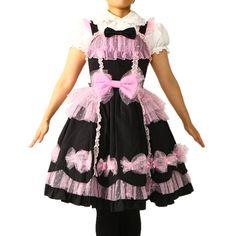 キャンディーフェアリージャンパースカート&カチューシャ  ロリィタファッション Angelic pretty