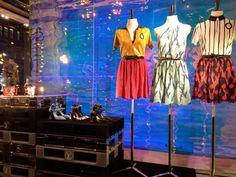 Without exception the windows at Louis Vuitton are certainly bold, striking, and colorful, and from afar so beautiful. The Mylar inspired ...