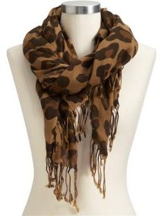 Gorgeous animal print scarf