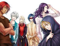 Fanart, Vampires, Naruto E Boruto, Dibujos Cute, Moon Lovers, Blood Moon, Anime Boyfriend, Art Memes, Diabolik Lovers