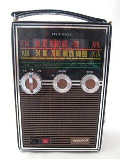 Vintage radios on etsy.com
