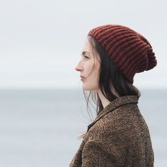 The Hadfield hat is a great classic hat project for trying out a new Phoebe shade. Pam Allen's hat pattern is available on our website and on Ravelry. #quincephoebe #quincehadfield #quinceandco