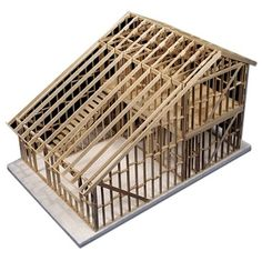 Lumberjack Tools, A Frame House, Second Story, Tiny Living, Model Homes, Bird Houses, Scale Models, House Plans, Decorative Boxes