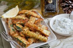 Zucchini Sticks| The Artful Gourmet