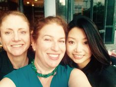 Part of our team at MBRE. Buffy Barton (L)- entertainment industry specialist, Joan Brothers (C) - President and Broker, Sue Wang (R) - China Market Specialist.