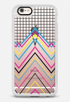 80's Chevy Grid Transparent #5 iPhone 6s case by Project M | Casetify
