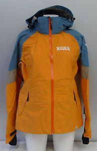 MALOJA-DAMEN-3-LAGEN-SNOW-JACKE-mod-VICTORIAM-gr-M-col-CURRY-14101-OCCASION