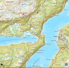 Sellandsnuten | Turanbefalinger Diagram, Map, World, The World, Location Map, Maps, Earth
