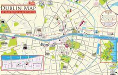 Mappa di Dublino - Cartina di Dublino