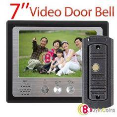 "7"" Color Monitor Hands Free Video Door Phone Door Bell Intercom System IR Camera.... http://intercomsystem.info"