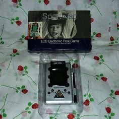 Lcd Electronic Pool Handheld Game Memorabilia by WelshGoatVintage