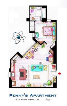 Penny's apartment (Big Bang Theory)