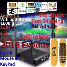 KIII K3 Jailbroken 2016 Exodus 4K Android 6 Box+Air Mouse Keypad | Other Computers & Software | Gumtree Australia Manningham Area - Doncaster | 1118105436