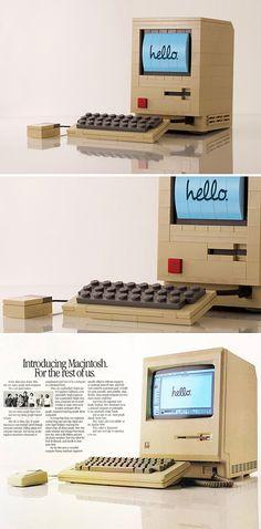 Lego Model of the Original Macintosh