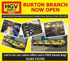 HGV Direct (@HGVDirectUK) | Twitter Burton On Trent, Sale Promotion, Derbyshire, Spare Parts, Truck Parts, Online Business, The Unit, Twitter