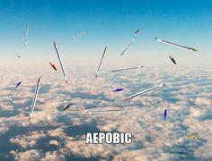 Το καλύτερο στυλό για το αεροπλάνο. ΑερόBIC.